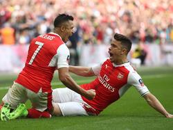 Arsenal steht zum 20. Mal im Finale des FA Cups