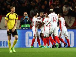 AS Monaco wirft Borussia Dortmund aus der Champions League
