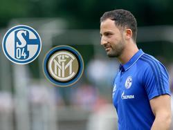 S04-Coach Domencio Tedesco ist nach dem 1:1 gegen Inter zufrieden