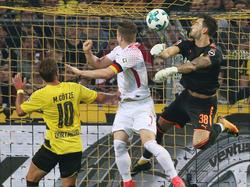 Marcel Sabitzer erzielte seinen Treffer per Kopf