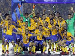 Los Tigres consiguieron así su sexto título de liga en primera división. (Foto: Imago)