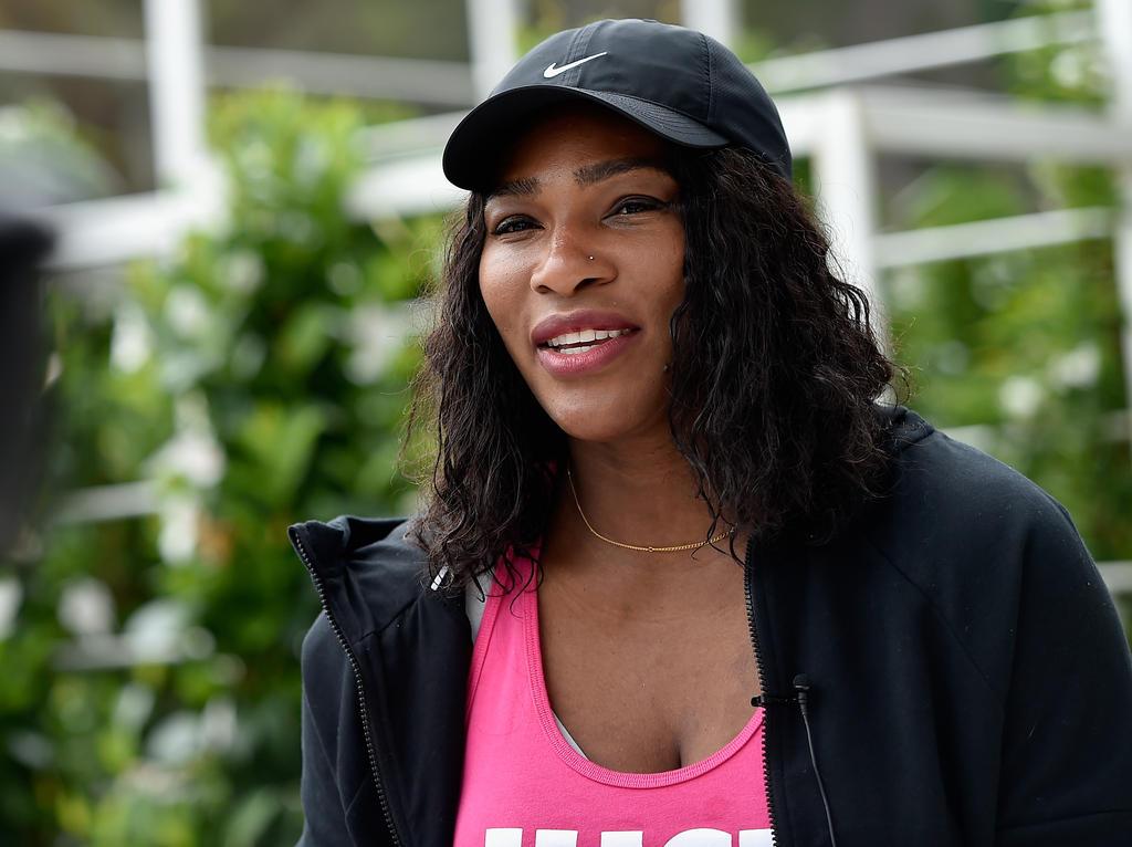 Serena Williams ist mit den Gedanken schon in Rio