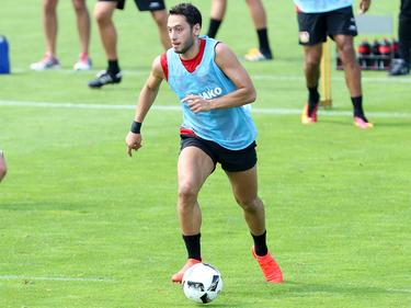 Hakan Çalhanoğlu will Training Vollgas geben