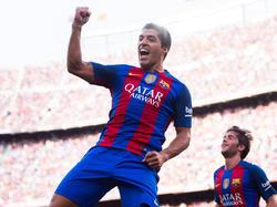 Luis Suárez erzielte gegen Sevilla drei Treffer