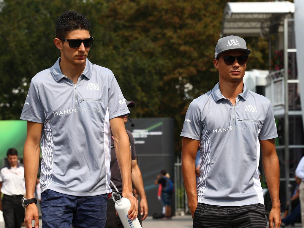 Junges Blut in der Formel 1: Ocon (links) und Wehrlein mischen die Königsklasse auf