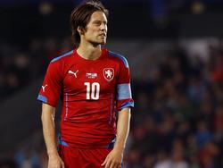 Tomas Rosicky will für Tschechien bei der EM spielen