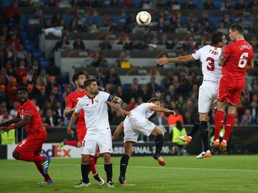 Los sevillistas se llevaron la final y ganaron su tercera Europa League consecutiva. (Foto: Getty)