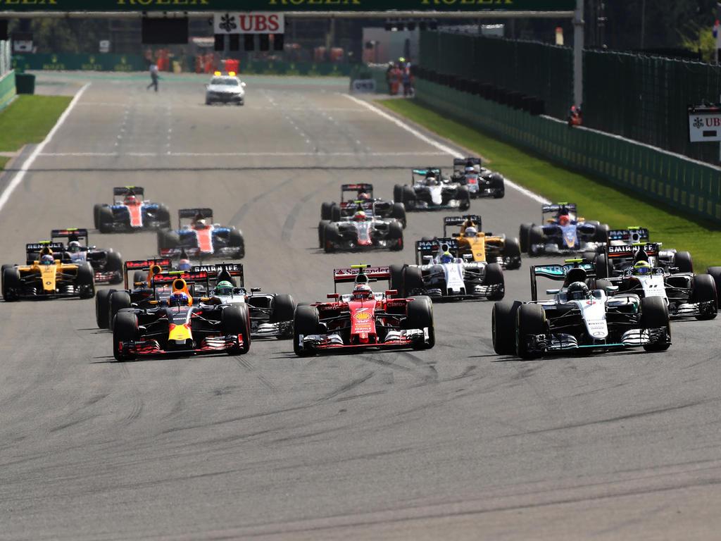 In der Formel 1 2016 kommt es beim Start wieder mehr auf den Fahrer an