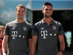 Sven Ulreich (r.) wird seinen Platz wieder an Manuel Neuer abdrücken müssen