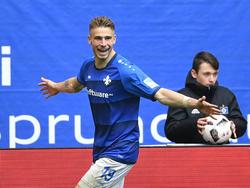 El Hamburgo lleva pleno de puntos en la Bundesliga. (Foto: Getty)