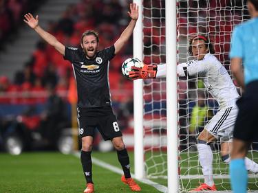 El United de Mata ganó en Lisboa. (Foto: Getty)