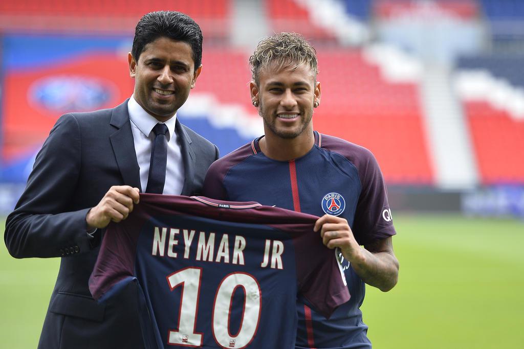 1. Platz: Neymar (Paris Saint-Germain) - Gewinn: 133,80 Mio.