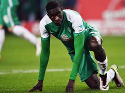 Sambou Yatabaré wird Werder in dieser Saison nicht mehr helfen können