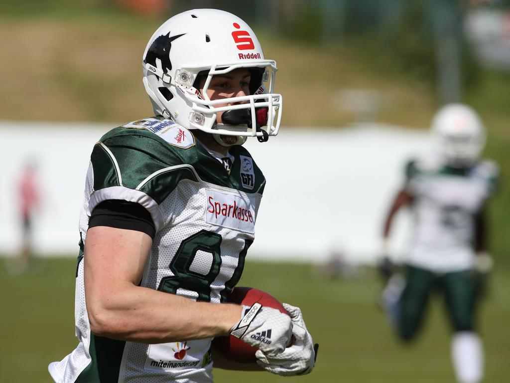 Moritz Böhringer hofft auf den Sprung in die NFL