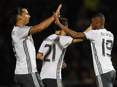 Zlatan Ibrahimović & Co erreichten locker die nächste Runde im Ligapokal