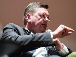 DFB-Präsident Reinhard Grindel sorgt sich