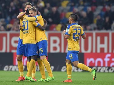 Eintracht Braunschweig hat einen wichtigen Dreier im Aufstiegskampf eingefahren