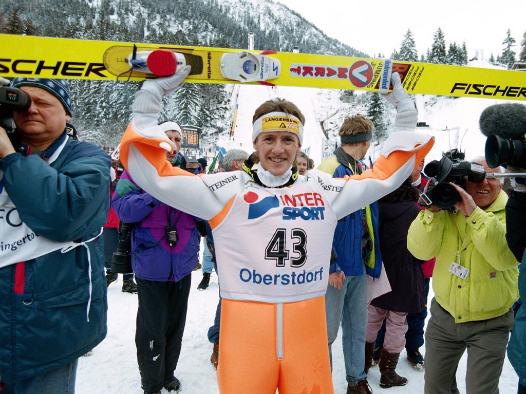 Platz 9: Jens Weißflog (Skispringen)