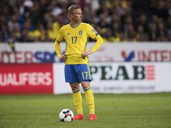 Oscar Wendt spielt nicht mehr für Schweden