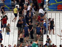 Krawallbilder wie bei der EURO 2016 sollen sich in Russland nicht wiederholen