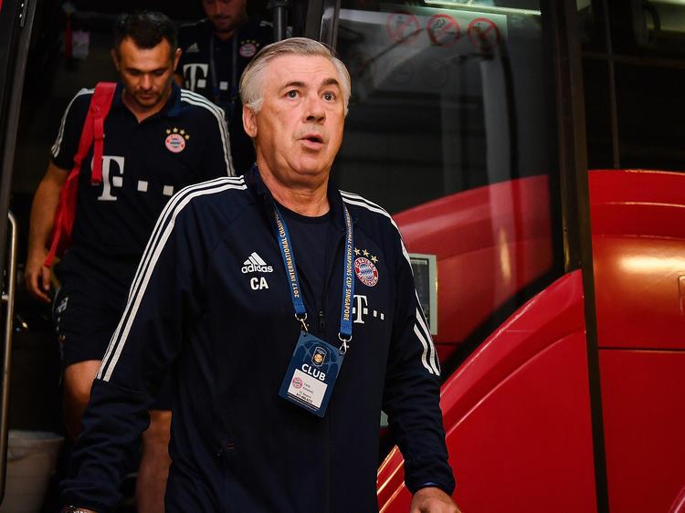 Carlo Ancelotti hat viel Arbeit vor sich