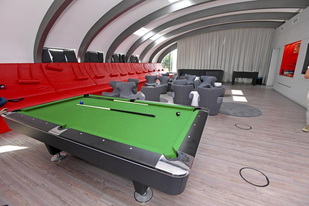 Die Players Lounge in der Allianz FC Bayern Akademie