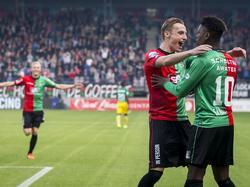 Marcel Ritzmaier traf erstmals für NEC Nijmegen