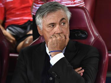 Carlo Ancelotti en un duelo de esta temporada ante el Atlético. (Foto: Getty)