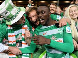 Lamine Sané ist Verteidiger des SV Werder Bremen