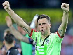 """Nach über 300 Pflichtspielen darf sich Christian Gratzei auch offiziell """"Sturm-Legende"""" nennen"""