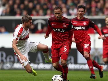 Ewerton kennt die 2. Bundesliga von seinem Jahr beim 1. FC Kaiserslautern