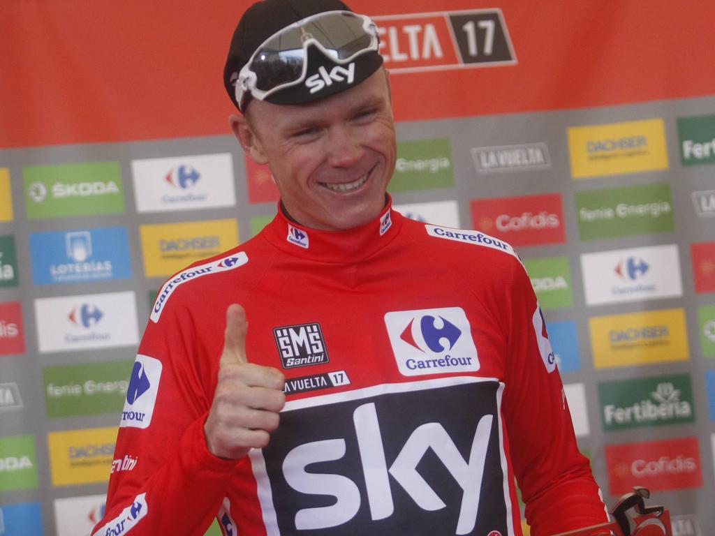 Froome triumphiert auch bei der Vuelta