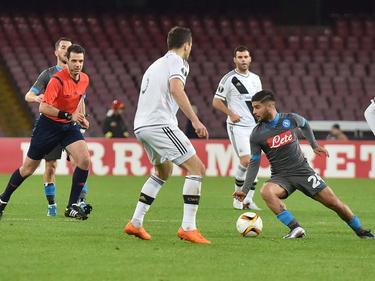 Am Rande der Partie zwischen Napoli und Legia kam es zu schweren Ausschreitungen