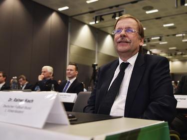 DFB-Interimspräsident Koch verteidigt Vorgehensweise