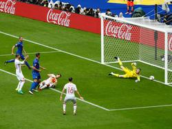España dejó muy mala imagen en su eliminación ante Italia en la Euro. (Foto: Getty)