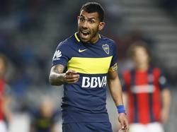 Carlos Tévez wird seiner Mannschaft vorerst fehlen