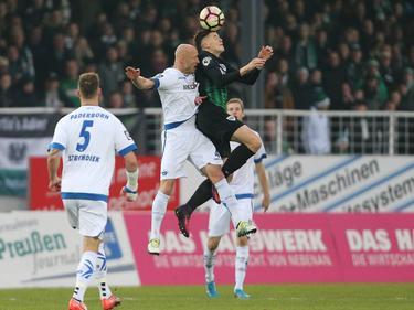 Der SC Paderborn gewinnt bei Preußen Münster