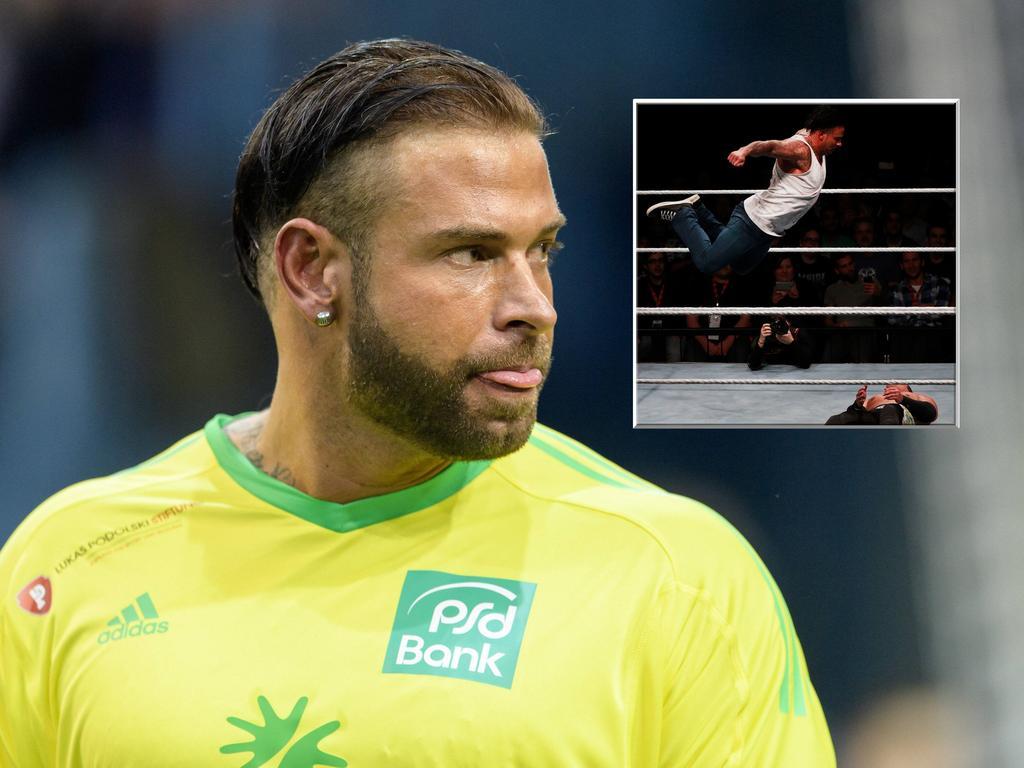 Steht Tim Wiese vor dem Karriere-Ende als Wrestler?