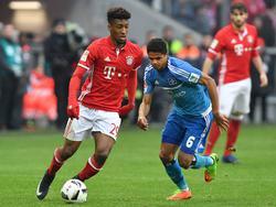 Kingsley Coman wird wohl über den Sommer hinaus beim FC Bayern bleiben