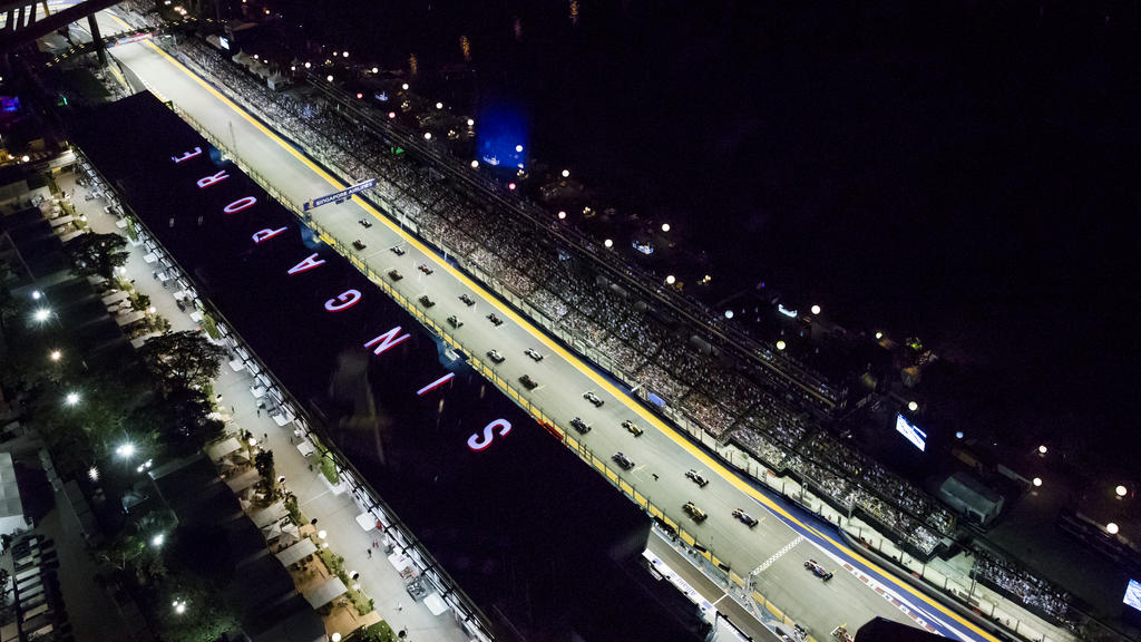 Marina Bay Street Circuit, Singapur