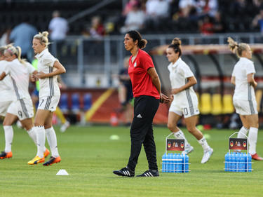 Steffi Jones' (M) DFB-Damen müssen sich noch steigern
