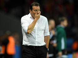 Bald arbeitslos? Belgiens Nationaltrainer Marc Wilmots