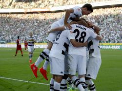 Gladbach jubelt dank der Treffer von André Hahn und Lars Stindl