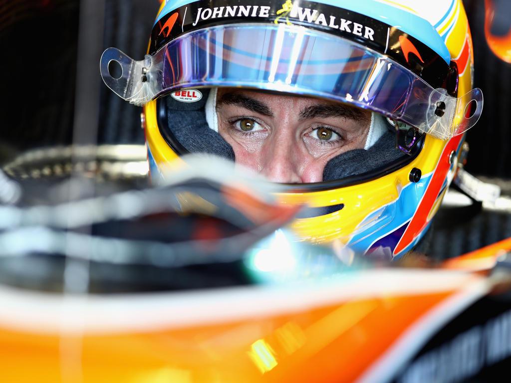 Alonso-Train: Der McLaren-Pilot kämpfte mit allen Mitteln um einen Punkt