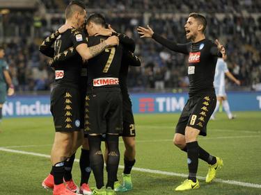 Napoli feierte einen 3:0-Sieg bei Lazio