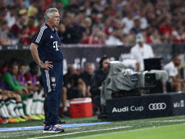 Carlo Ancelotti braucht Titel mit dem FC Bayern