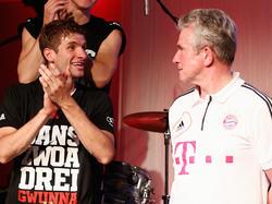 Thomas Müller und Jupp Heynckes sind wieder vereint