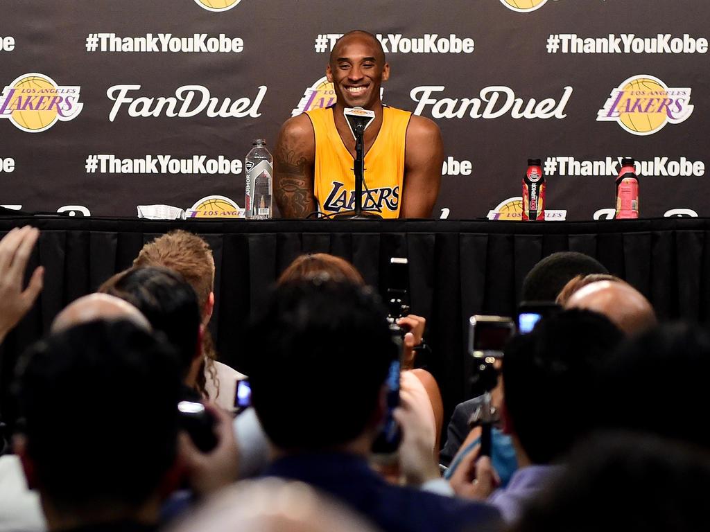 Kobe Bryant freut sich auf seinen Ruhestand