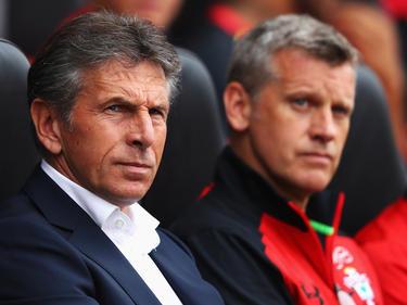 Southampton-Assistent Eric Black (r.) ist unter Verdacht
