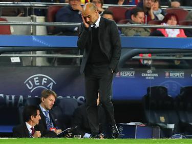 Pep Guardiola hatte bei seiner Rückkehr nach Barcelona keine Chance